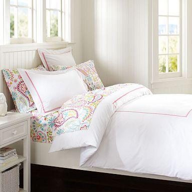 Pop Dot Duvet Cover + Sham, Bright Pink #potterybarnteen. Dorm Room BeddingGirl  BeddingPbteenKids ... Part 94