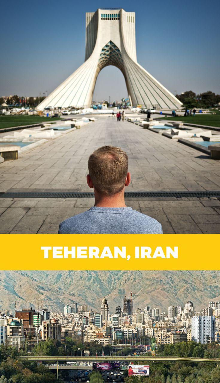 In diesem Artikel findest du: Teheran Sehenswürdigkeiten · Karte mit Standorten · Golestanpalast · Verkehr · Berge · Azadi Tower · US-Botschaft · Basar · Tabiat Bridge