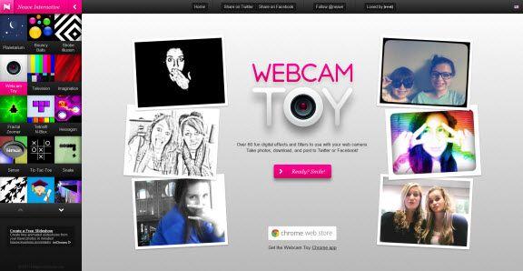 Web Cam filters !