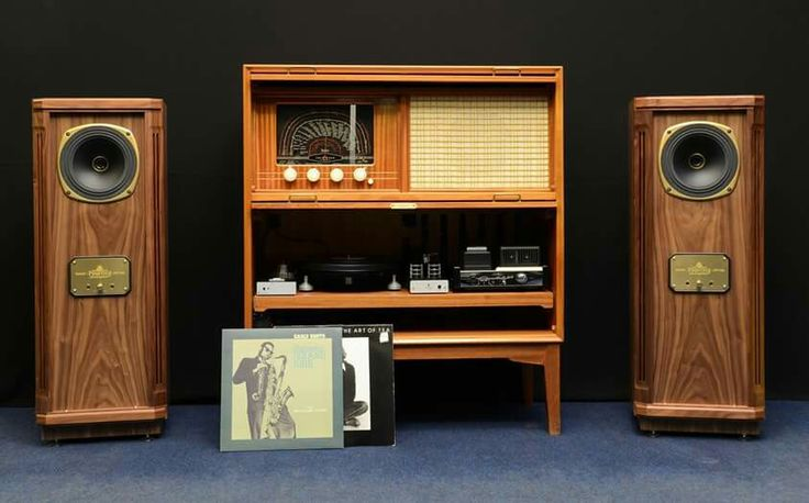 Vintage high end audio audiophile Tannoy speakers  The