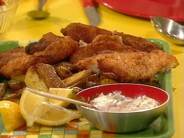 Fish Fry recipe from Rachael Ray via Food Network
