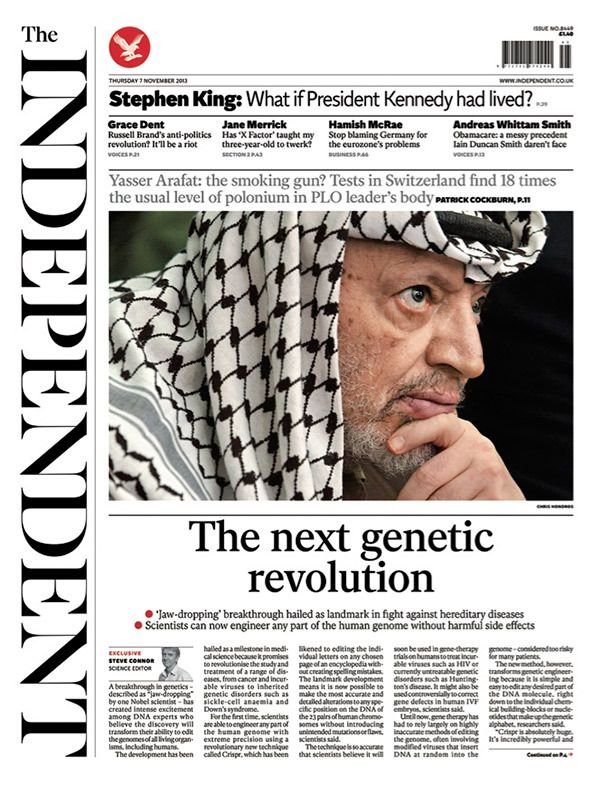 The Independent Redesign - Matt Wiley and The Independent's in-house team // www.mattwilley.co.uk