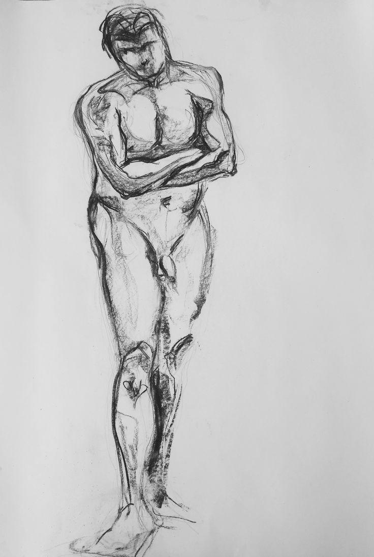 Dit werk doet tijdens de #maandvanhetnaakt mee in de kunstwedstrijd van @avrotroskunst. Inzenden kan nog t/m 18 mei. avrotros.nl/kunst