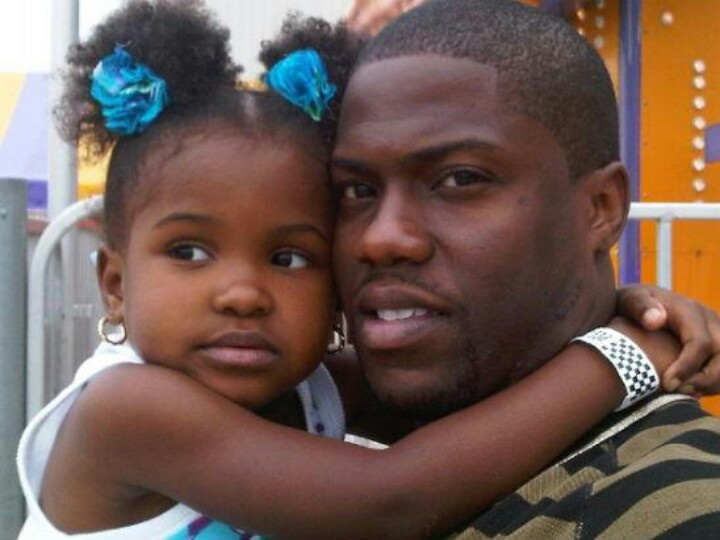 Kevin Heart & Daughter