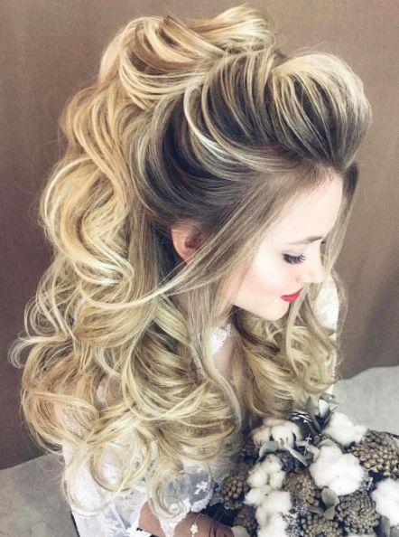 Best Wedding Hairstyles : Featured Hairstyle: Elstile; www.elstile.ru; Wedding hairstyle idea.