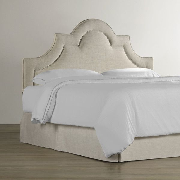 Homeware Nevelle Upholstered Headboard U0026 Reviews | Wayfair