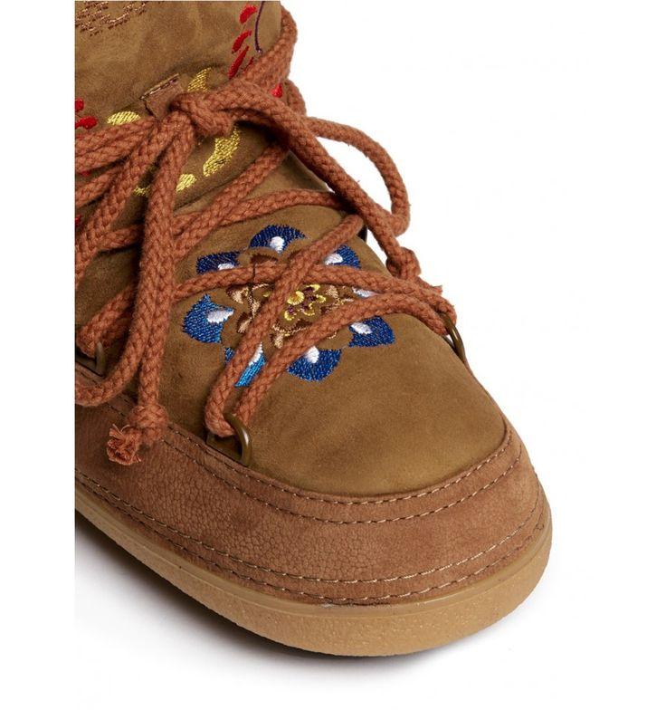 IKKII Boots Folklore Low Brown - BIG BOSS Megève