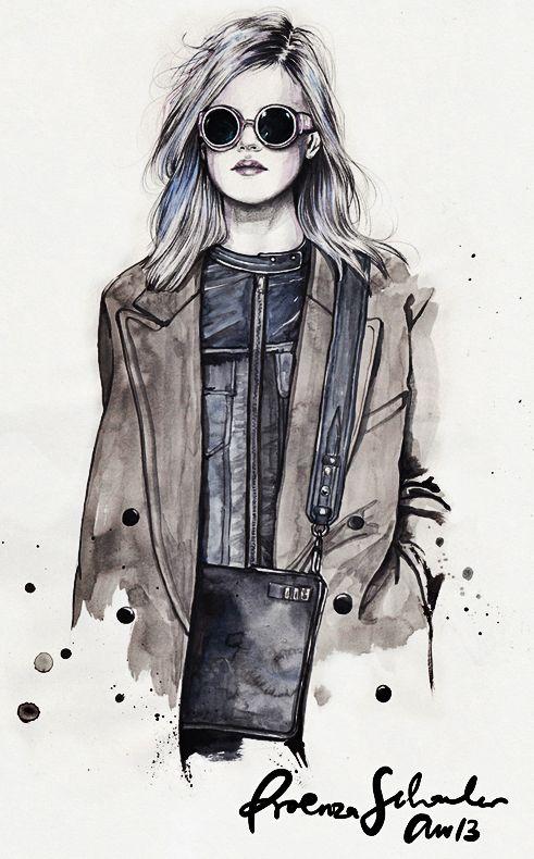 #fashionillustration Proenza Schouler