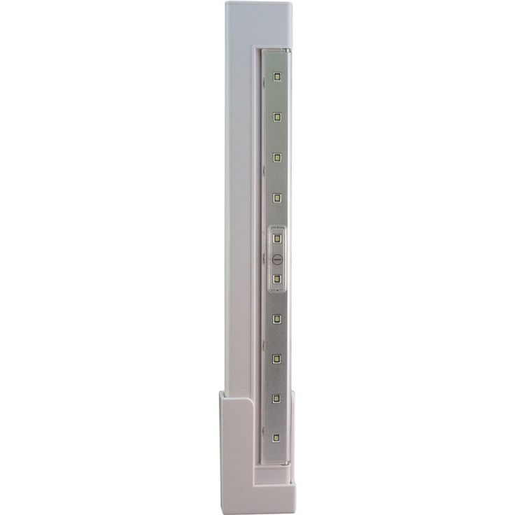 LED Battery Operated Slim Under Cabinet Lights with Hi/Lo/Off Push Button LPL1010W