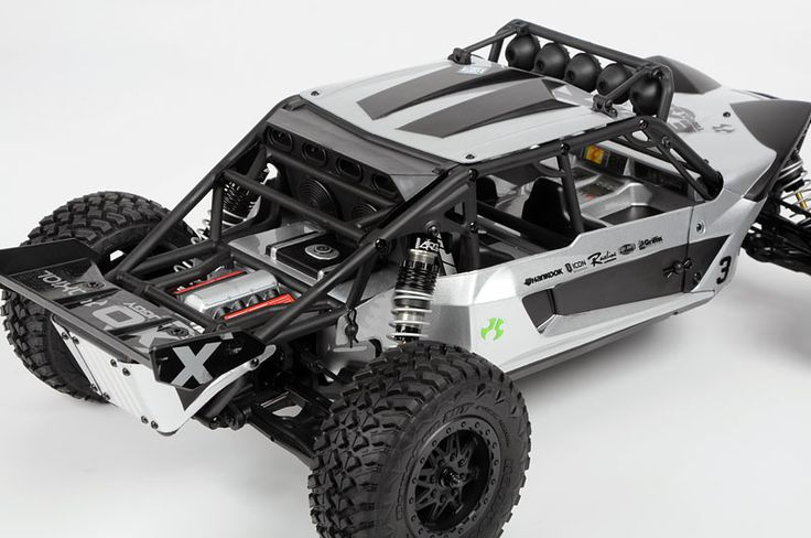 Axial Exo buggy, 4wd electric RC buggy.