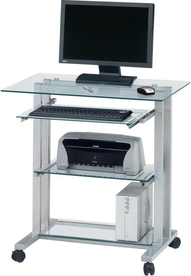 Jahnke Glastisch Pc R 12 Tastaturauszug Online Kaufen Otto Glastische Tisch Couchtisch Modern