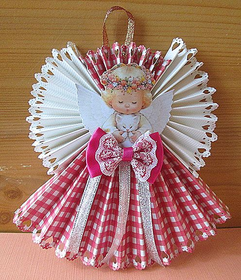 Christmas Crafts Paper Angels : Best images about angel crafts on