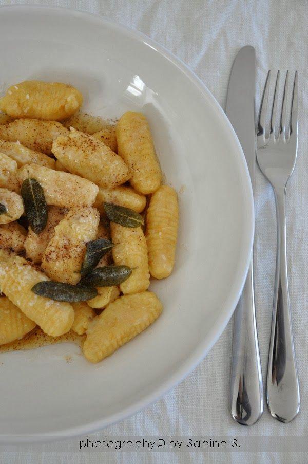 Gnocchi di patate e zucca, una vera bontà Due bionde in cucina