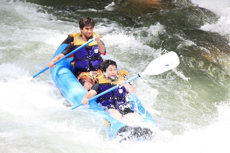 Everything's more fun in a ducky!  Come play on the Nantahala River with Wildwater Nantahala in Bryson City, NC.