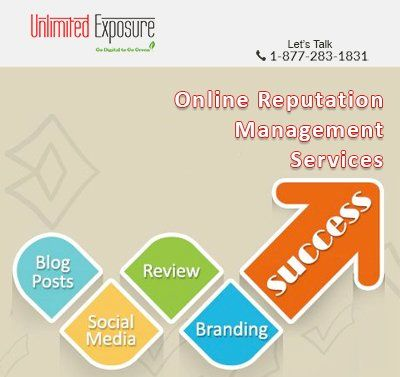 Contrary to popular belief, all publicity is not good. Looking for quality #OnlineReputationManagementServices? We are Unlimited Exposure have years of experience in clearing your name!