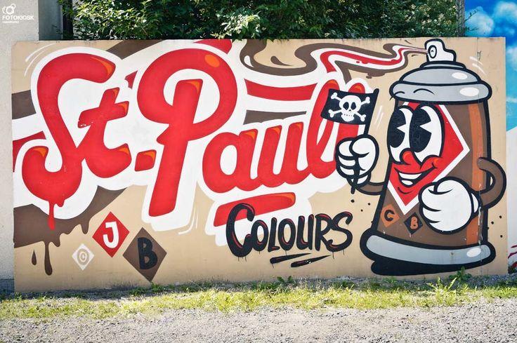St. Pauli, Hamburg #stpauli #graffiti