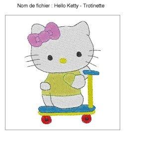 Hello Ketty - Trotinette