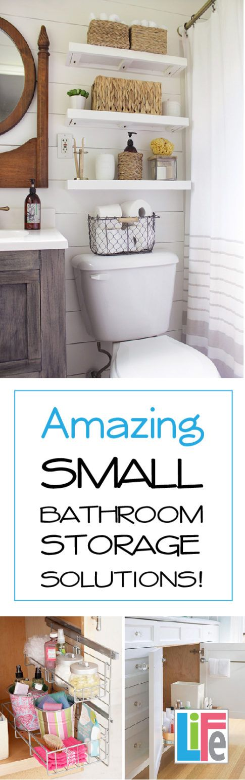 If you suffer from tiny bathroom syndrome, welcome to the club. There never seems to be enough space for all the bottles, jars, sprays, gels, and appliances used in the bathroom. Somehow, the tiniest space in the house gets the most use. To maximize your space, and get the most out of your
