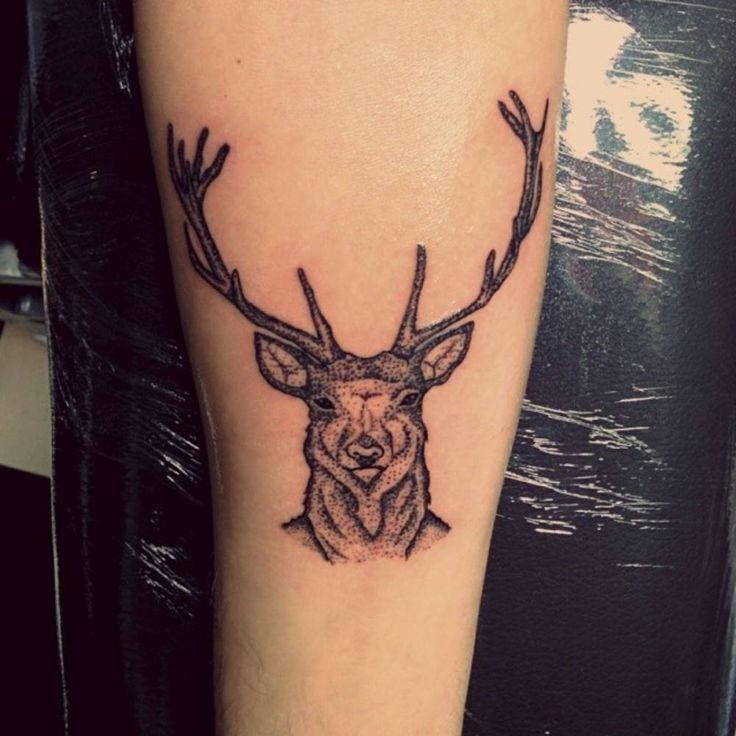 26 Deer Tattoos: Little Forearm Tattoo Of A Deer By Tattoo Artist Murat
