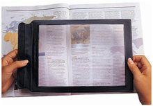 Flexibel vergrootglas voor het lezen van kranten, boeken etc. (2x vergroting) (VM966)