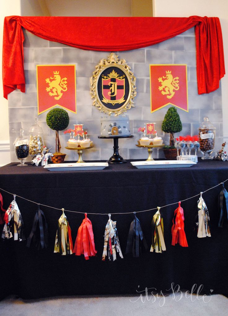 Guest Party: Knight in Shining Armor Party by Itsy Belle - The ...