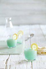 Vitamix Rezept: GEFRORENE BLAUER-WODKA-LIMONADE