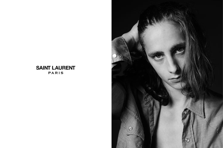 Alex Esmail for Saint Laurent | Wonderland Magazine