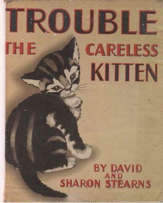 Cats In Art And Illustration Trouble The Careless Kitten
