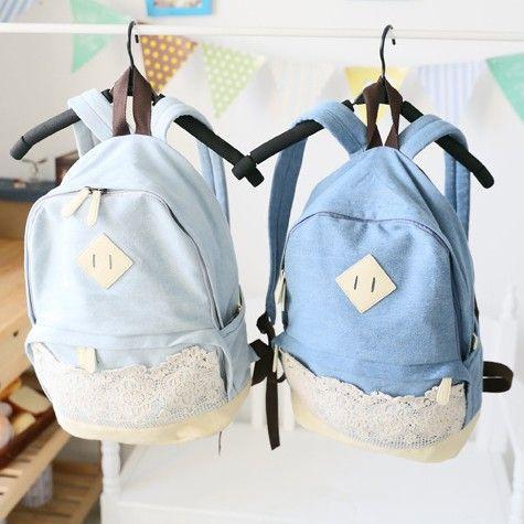 весной и летом 2014 небольшой свеёий дёинсовой мягкий шнурок рюкзак мешок школы 791,84