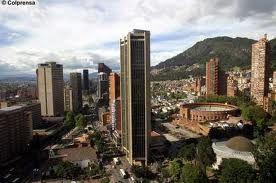 Vista panorámica de Bogotá D.C., Colombia