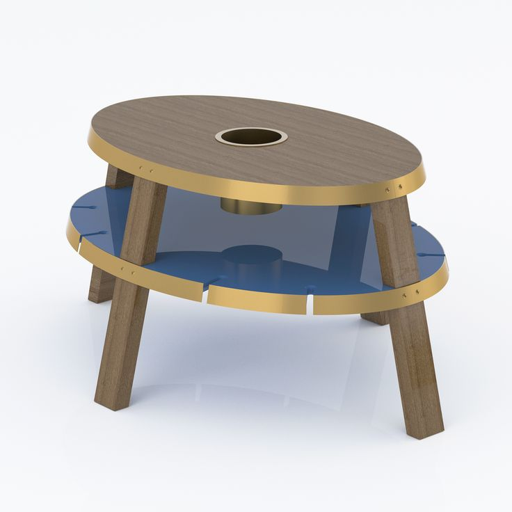 Lazuli Center Table, from VOLO VINIS. Available at www.volovinis.com