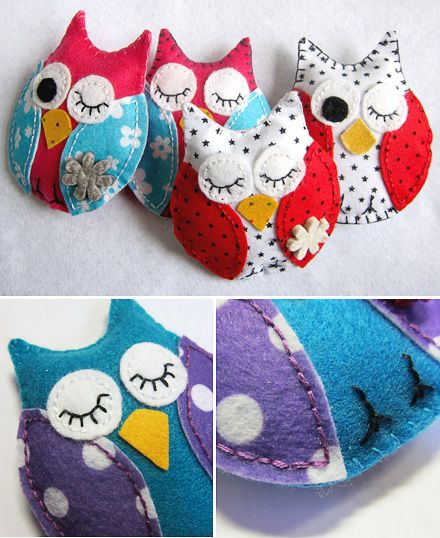 owl crafts for kids to make | crafts for kids and their parents MommyMoo Made » MollyMoo - crafts ... easy sewing project