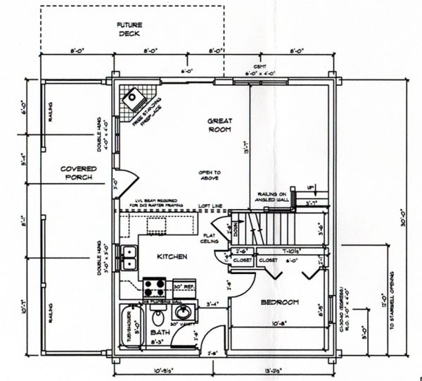 The Rendezvous Log Home Floor Plan EverLog Systems - oukas info