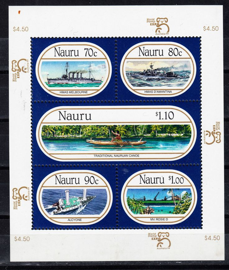 Special Stamp Nauru