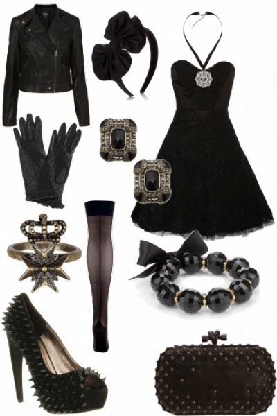 All black everything #style #fashion #outfit