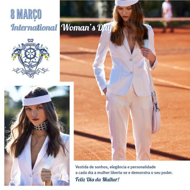 Feliz Dia da Mulher! Vestida de sonhos, elegância e personalidade a cada dia a mulher liberta-se e demonstra o seu poder. www.lionofporches.com