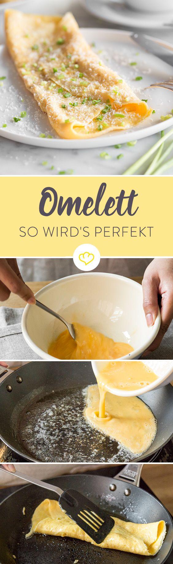 Wie du das perfekte Omelett zubereitest