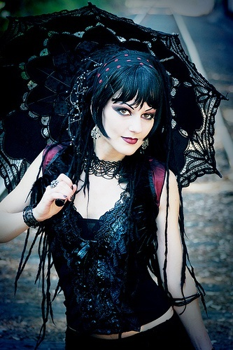 Goth beauty