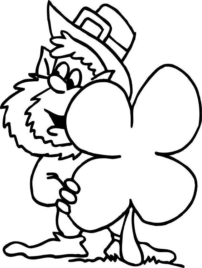 coloring pages for leprocons - photo#18