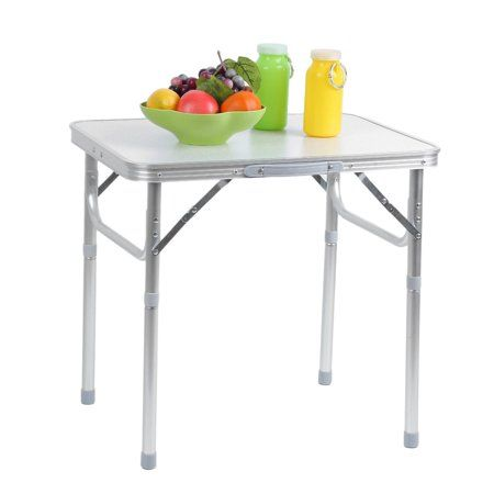 Small Portable Folding Table Efistu Com In 2020 Camping Table Adjustable Table Adjustable Height Table