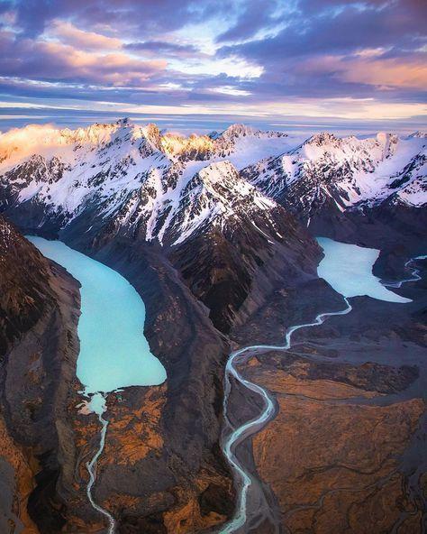 Southern Alps, New Zealand Instagram photo by @rachstewartnz • #fiordlandNZ #NZMustDo #newzealandlandscape