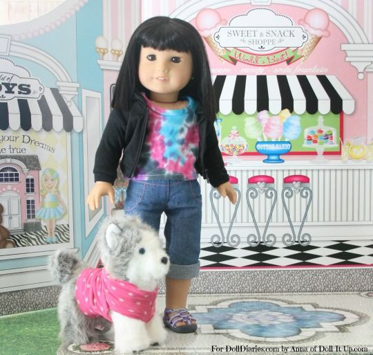Camp Doll Diaries – No Sew Pet Clothes