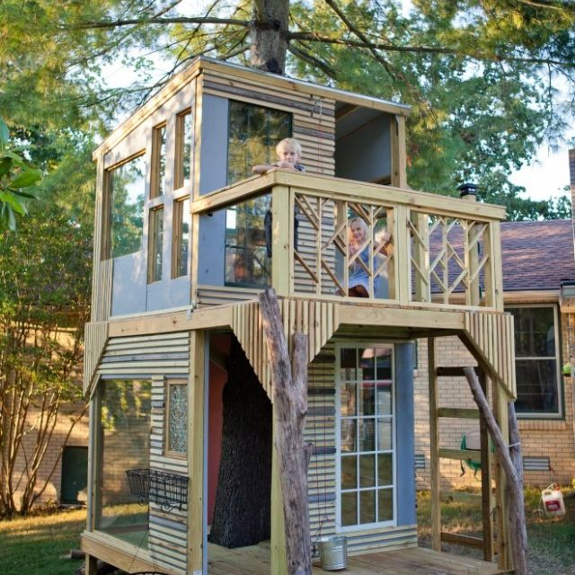 25 best images about boys 39 clubhouse on pinterest for Kids clubhouse blueprints