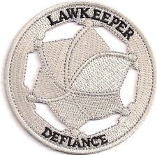 "Defiance TV Series Lawkeeper Badge 3"" Embroidered Patch (DFPA-01)"