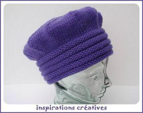 Chapeau d'hiver DIY pour adulte (aiguilles) - inspicreatives