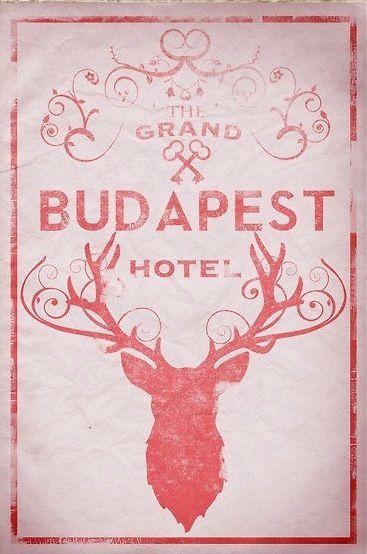 The Grand Budapest Hotel alternate poster.  Illustrated by ThunderDoam on Etsy.