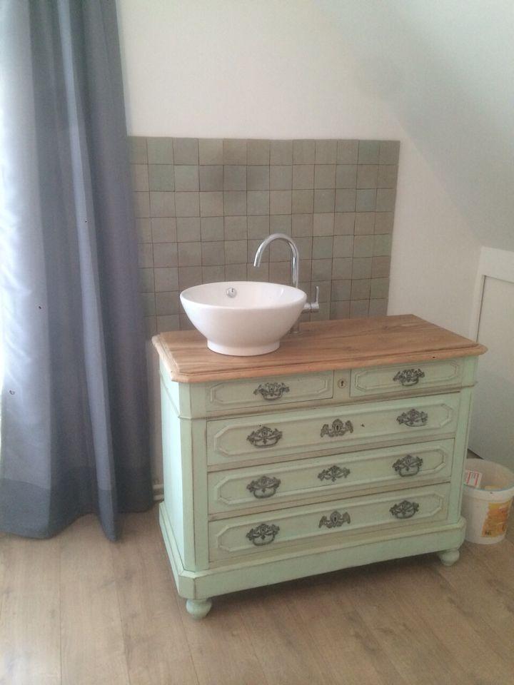 Wasbak hout badkamer - Ouderwetse badkamer ...