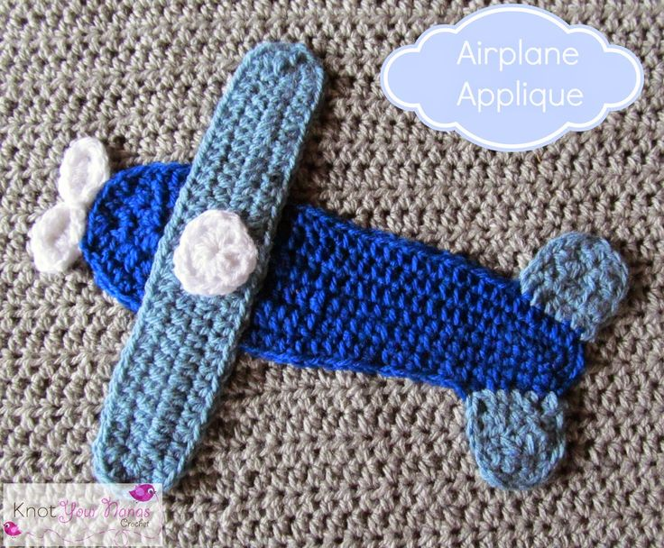 Boys Will Be Boys Blanket Airplane Applique