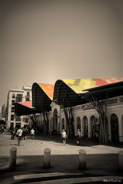 Mercado de Santa Caterina,Barcelona. by Alberte Couto, via Flickr