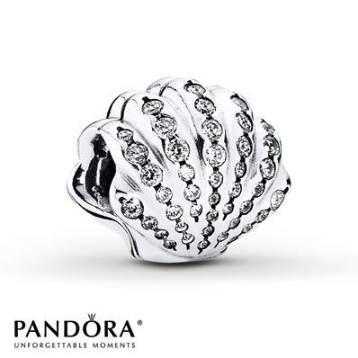 Design your own photo charms compatible with your pandora bracelets. PANDORA Charm Disney, Ariels Shell Sterling Silver - $70.00